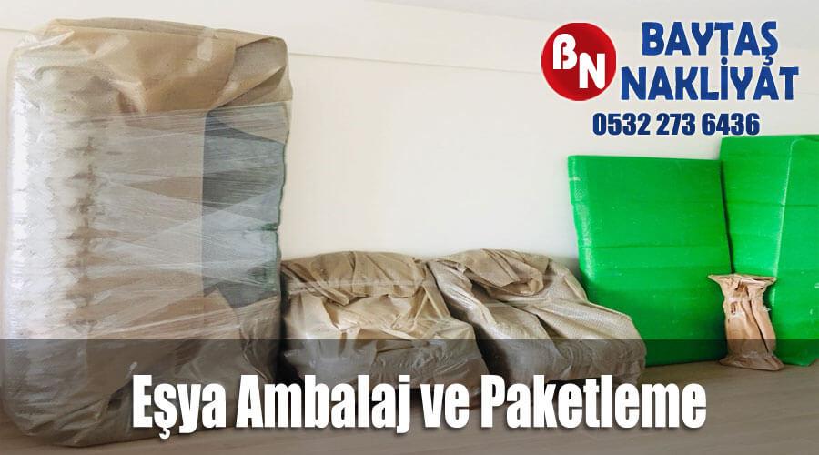Eşya Ambalaj ve Paketleme İstanbul Baytaş Evden Eve Nakliyat